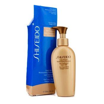 Shiseido ყოველდღიური თვითგასარუჯი დამატენიანებელი ემულსია (სახისა / ტანისთვის) (ყუთი ოდნავ დაზიანებულია)  150ml/5.1oz