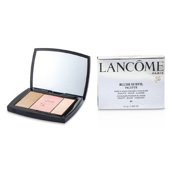 Lancôme Blush Subtil Palette (3x Cores Pó Blush) - # 01 Rose Flush  4.5g/0.158oz