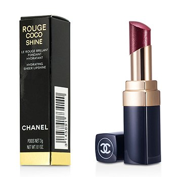 Chanel Son B�ng Giữ Ẩm Rouge Coco # 81 Fiction  3g/0.1oz