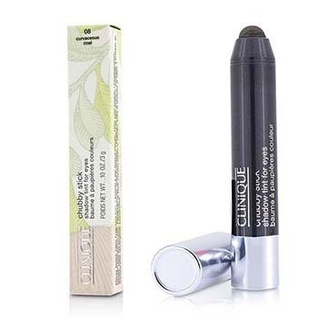 Clinique Chubby Stick Shadow Tint for Eyes - # 08 Curvaceous Coal  3g/0.1oz