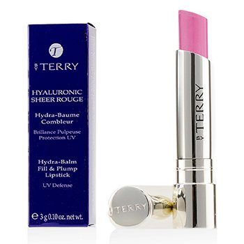 By Terry Hyaluronic Sheer Rouge Hydra Balm Pintalabios Llena & Rellena (Defensa UV) - # 4 Princess In Rose  3g/0.1oz