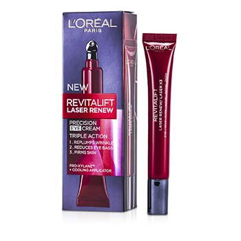 L'Oreal ครีมทาตา New Revitalift Laser Precision  15ml/0.5oz