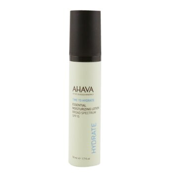 Ahava Time To Hyrdate Essential Moisturizing Lotion SPF 15  50ml/1.7oz