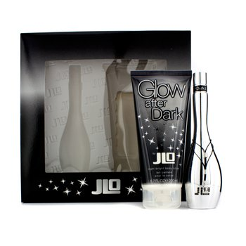 J. Lo Glow After Dark Coffret: Eau De Toilette Spray 50ml/1.7oz + Night Bright Crema Corporal 200ml/6.7oz  2pcs