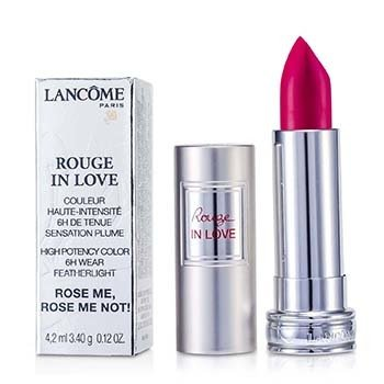 Lancôme Batom Rouge In Love - # 375N Rose Me, Rose Me Not!  4.2ml/0.12oz