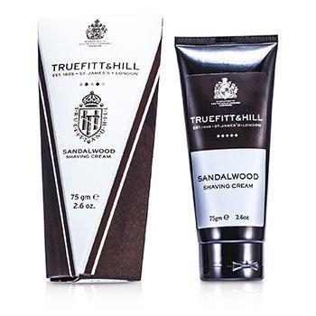 Truefitt & Hill Sandalwood Crema de Afeitar (Tubo Viajero)  75g/2.6oz