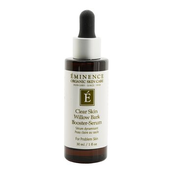 Eminence Clear Skin Willow Bark Booster-Serum (For Acne Prone Skin)  30ml/1oz
