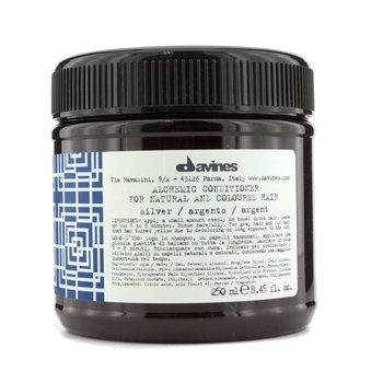 Davines Alchemic Conditioner Silver (For Natural & Coloured Hair)  250ml/8.45oz