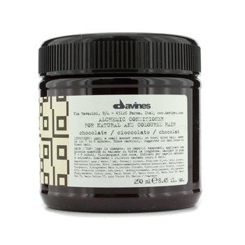 Davines Alchemic Conditioner Chocolate (Luonnollisille sekä tummanruskeille ja mustille hiuksille)  250ml/8.45oz