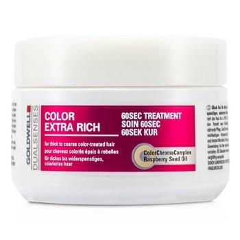 Goldwell Dual Senses Color Extra Rich Tratamiento 60 Seg (Para Cabello Teñido Grueso a Áspero)  200ml/6.7oz