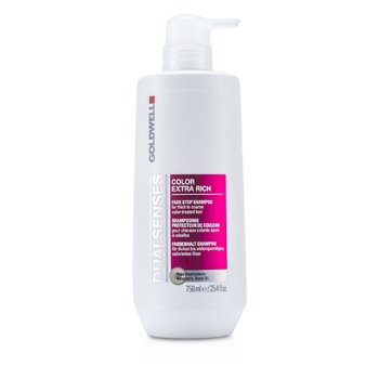Goldwell Dual Senses Color Extra Rich Fade Stop Shampoo (For Thick to Coarse Color-Treated Hair)  750ml/25.4oz