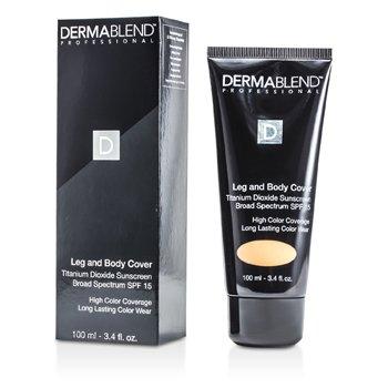 Dermablend Leg & Body Cover SPF 15 (Full Coverage & Long Wearability) - Golden  100ml/3.4oz