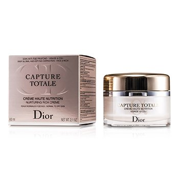 Christian Dior Capture Totale Haute Nutrition Nurturing Rich Creme (Normal to Dry Skin)  60ml/2.1oz