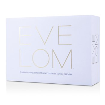 Eve Lom Travel Essentials Collection: Cleanser 30ml + Morning Time Cleanser 50ml + Rescue Mask 15ml + TLC Radiance Cream 25ml  4pcs