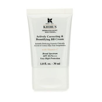 Kiehl's Actively Correcting & Beautifying BB Cream SPF 50 PA+++ (Fair) - Krim Wajah  30ml/1oz