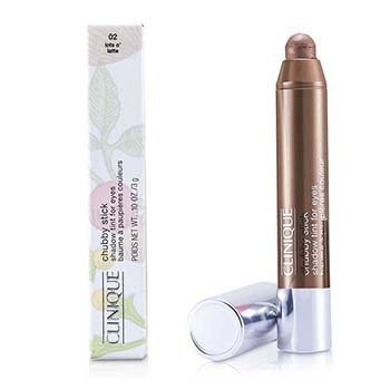 Clinique Oční stíny v tužce Chubby Stick Shadow Tint for Eyes - č. 02 Lots O' Latte  3g/0.1oz