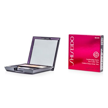 Shiseido Luminizing Satin Eye Color Trio - # RD299 Beach Grass  3g/0.1oz