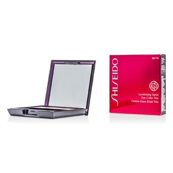 Shiseido Luminizing Satin Eye Color Trio - # RD711 Pink Sand  3g/0.1oz
