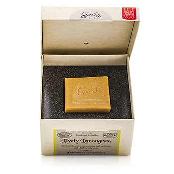 Gamila Secret Cleansing Bar - Lively Lemongrass (For Combination to Oily Skin)  115g