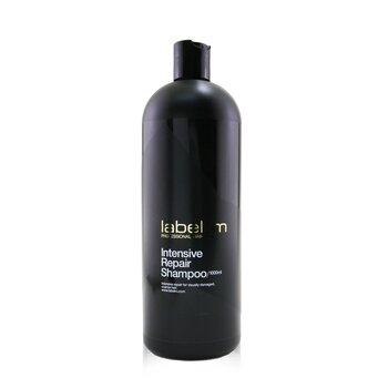 Label.M Intensywny szmpon regenerujacy do włosów zniszczonych Intensive Repair Shampoo (For Visually Damaged, Coarse Hair)  1000ml/33.8oz
