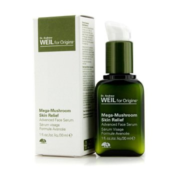 Origins Zaawansowane serum do twarzy na noc Dr. Andrew Mega-Mushroom Skin Relief Advanced Face Serum  30ml/1oz