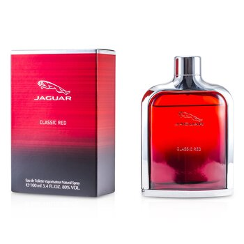 Jaguar Classic Red Eau De Toilette Spray  100ml/3.4oz