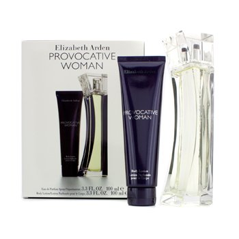 Elizabeth Arden Provocative Woman Coffret: Eau De Parfum Spray 100ml/3.3oz + Body Lotion 100ml/3.3oz  2pcs