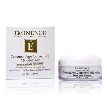 Eminence Coconut Age Corrective Moisturizer (Normal to Dry Skin)  60ml/2oz