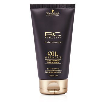 Schwarzkopf BC Oil Miracle Gold Shimmer Conditioner (For All Hair Types)  150ml/5oz