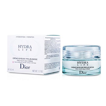 Christian Dior Creme Rejuvenescedor Hydra Life Pro-Youth Silk Creme (Pele Normal a Seca)  50ml/1.7oz