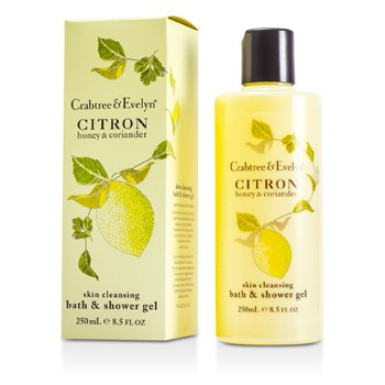 Crabtree & Evelyn Barra y Gel Corporal de Limón, Miel y Cilantro  250ml/8.5oz