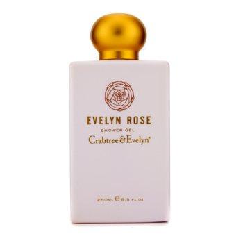 Crabtree & Evelyn Evelyn Rose Gel de Ducha  250ml/8.5oz