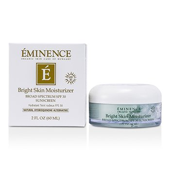 Eminence Bright Skin Moisturizer Broad Spectrum SPF 30 Sunscreen  60ml/2oz