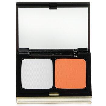 凱文奧庫安  雙色眼影# 212 Soft Sky/ Tangerine  4.8g/0.16oz