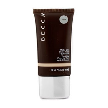 Becca Matte Skin Shine Proof Foundation - # Sand  40ml/1.35oz