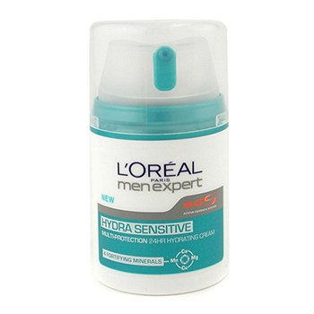 L'Oreal Men Expert Hydra Sensitive Multi-Protection 24 HR Hydrating Cream  50ml/1.6oz