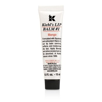 Kiehl's Lip Balm # 1 Petrolatum Skin Protectant - Mango  15ml/0.5oz