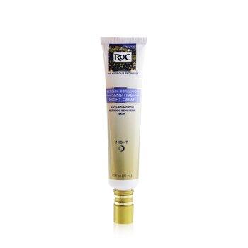 ロック レチノール コレクシオン センシティブ ナイト クリーム (敏感肌)  30ml/1oz