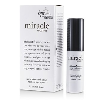 Philosophy Miracle Worker Miraculous Reparación Retinoide de Ojos Anti Envejecimiento  15ml/0.5oz