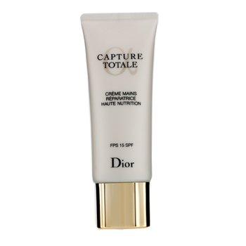 Christian Dior کرم ترمیم کننده و تغذیه کننده پوست دست Capture Totale با SPF15  75ml/2.6oz