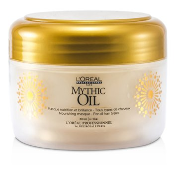 L'Oreal Mythic Oil Máscara Nutritiva (Para Todo Tipo de Cabello)  200ml/6.7oz