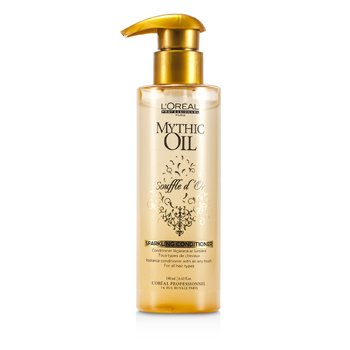 L'Oreal Mythic Oil Souffle d'Or Sparkling Conditioner (Todos os tipos de cabelo)  190ml/6.42oz