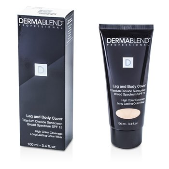 Dermablend Leg & Body Cover Broad Spectrum SPF 15 (Full Coverage & Long Wearability) - Beige  100ml/3.4oz