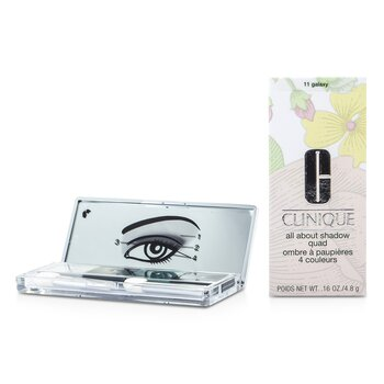 Clinique All About Shadow Quad - # 11 Galaxy  4x1.2g/0.04oz
