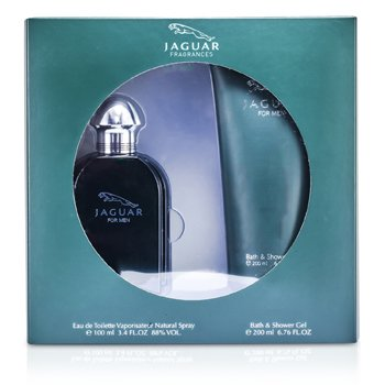 Jaguar Jaguar Coffret: Eau De Toilette Spray 100ml/3.4oz + Bath & Shower Gel 200ml/6.76oz  2pcs