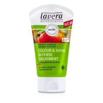 Lavera Organic Mango & Organic Avocado Tratamiento Intenso Color & Brillo (Para Cabello Tratado con Color e Iluminaciones)  125ml/4.1oz
