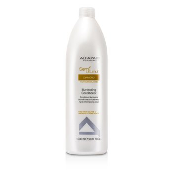 AlfaParf Semi Di Lino Diamond Acondicionador Iluminador (Para Cabello Normal)  1000ml/33.81oz