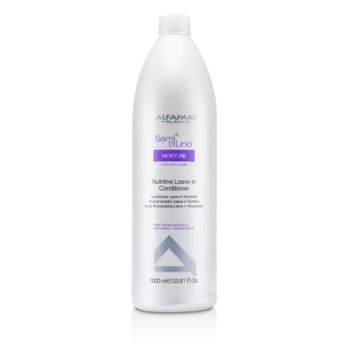 AlfaParf Semi Di Lino Moisture Nutritive Leave-in Conditioner (For Dry Hair)  1000ml/33.81oz