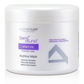 AlfaParf Semi Di Lino Moisture Máscara Nutritiva (Para Cabello Seco)  500ml/16.9oz