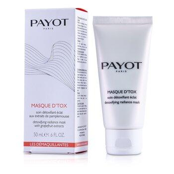 Payot Les Demaquillantes Masque D'Tox MascarillaResplandor Desintoxicante  50ml/1.6oz